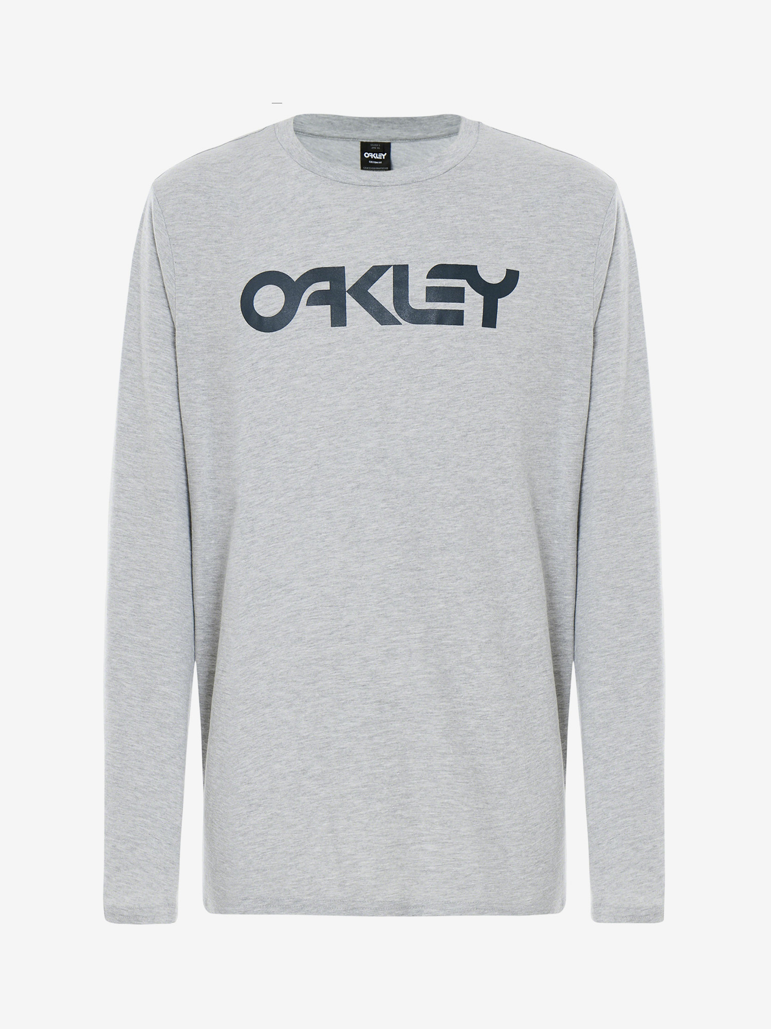 Tričko Oakley Mark Ii L/S Tee Granite Heather Šedá