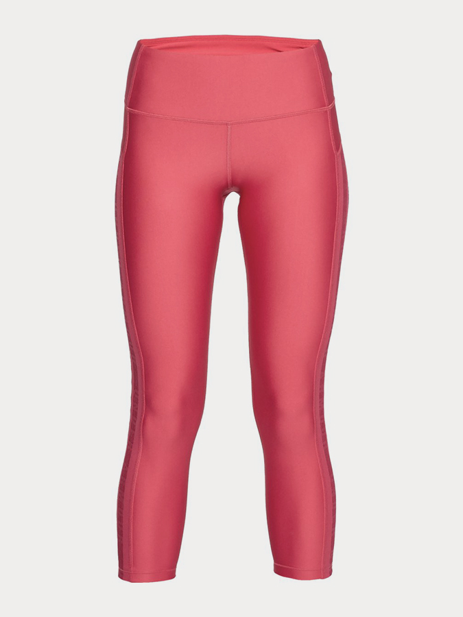 Kompresní legíny Under Armour Hg Ankle Crop Branded Růžová