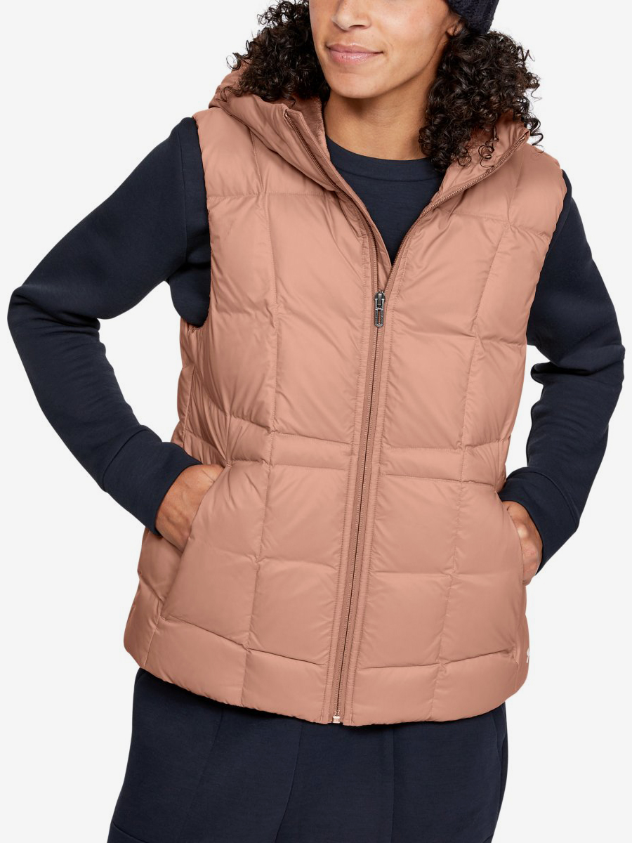 Vesta Under Armour Down Vest-Brn Béžová