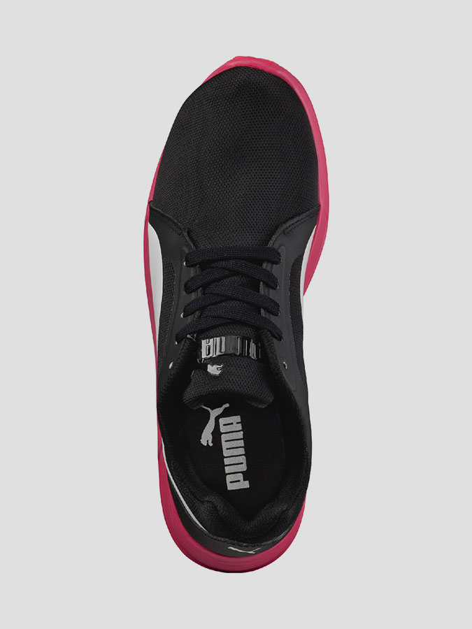 Boty Puma ST Trainer Evo black-white-rose red (5)