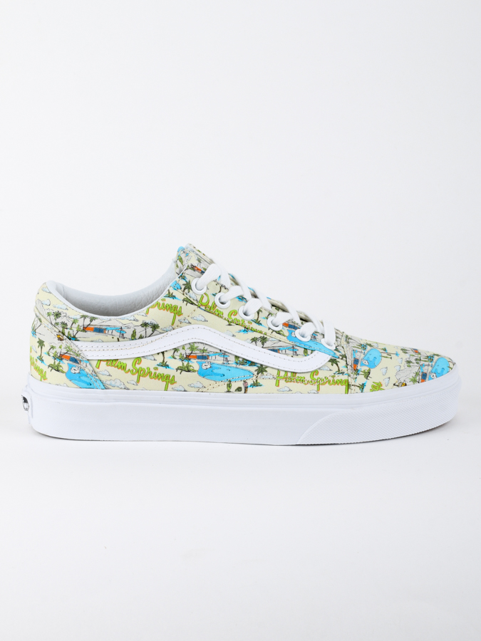 Boty Vans UA OLD SKOOL (PALM SPRING) (1)