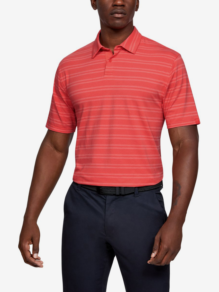 Tričko Under Armour Cc Scramble Stripe-Red Červená