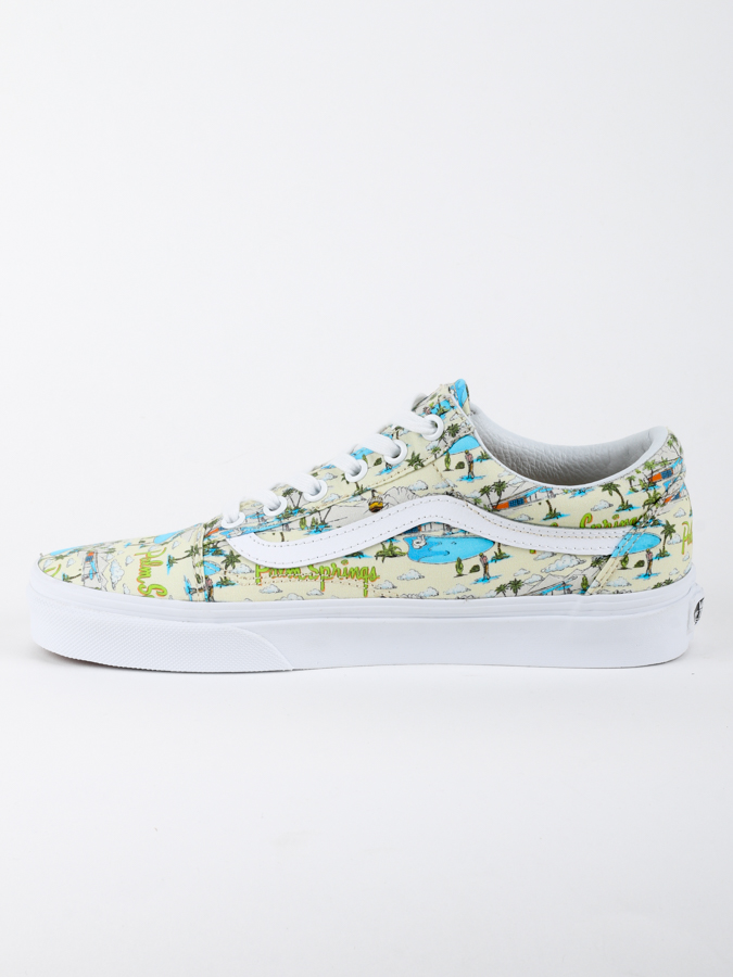 Boty Vans UA OLD SKOOL (PALM SPRING) (2)
