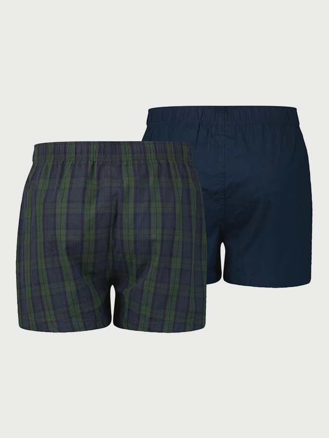 Trenýrky LEVI'S 300Ls Blackwatch Check Woven Boxer 2 Pack (2)
