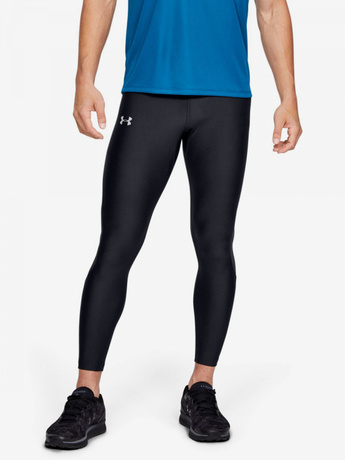 Kompresní legíny Under Armour Speed Stride Tight-Blk Černá