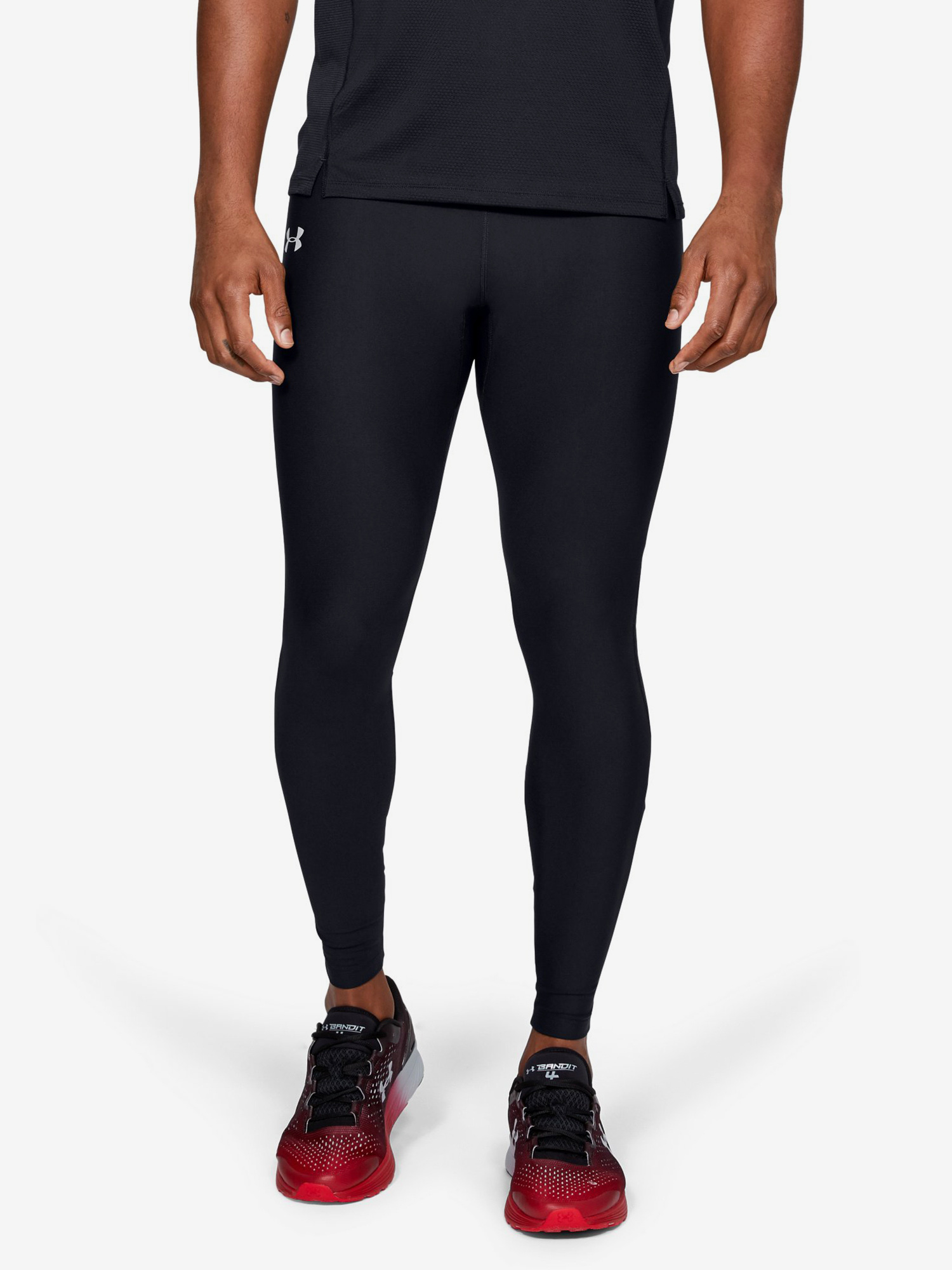 Kompresní legíny Under Armour Qlifier Heatgear Tight Černá