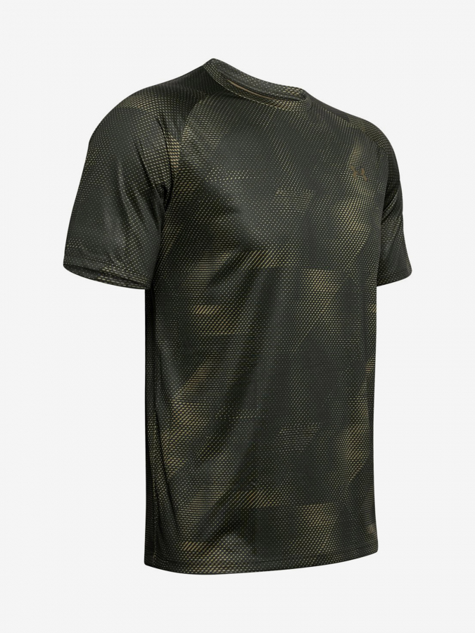 Tričko Under Armour Tech 2.0 Ss Printed-Grn Zelená