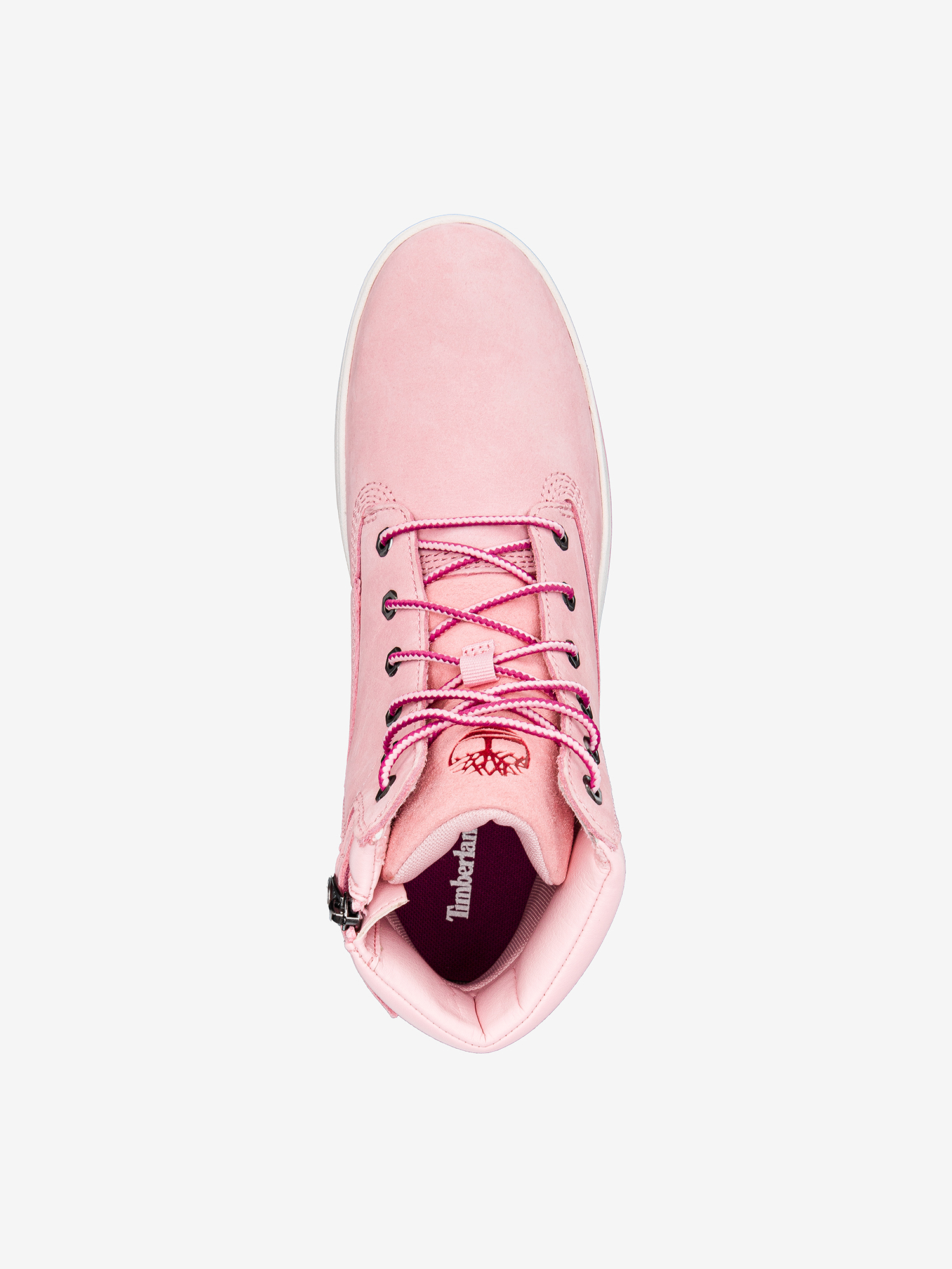 Boty Timberland Davis Square 6 Inch Prism Pink (4)