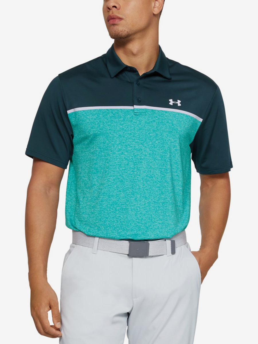 Tričko Under Armour Playoff Polo 2.0-Grn Zelená