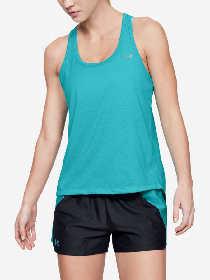 Tílko Under Armour Whisperlight Tie Back Tank-Blu Modrá