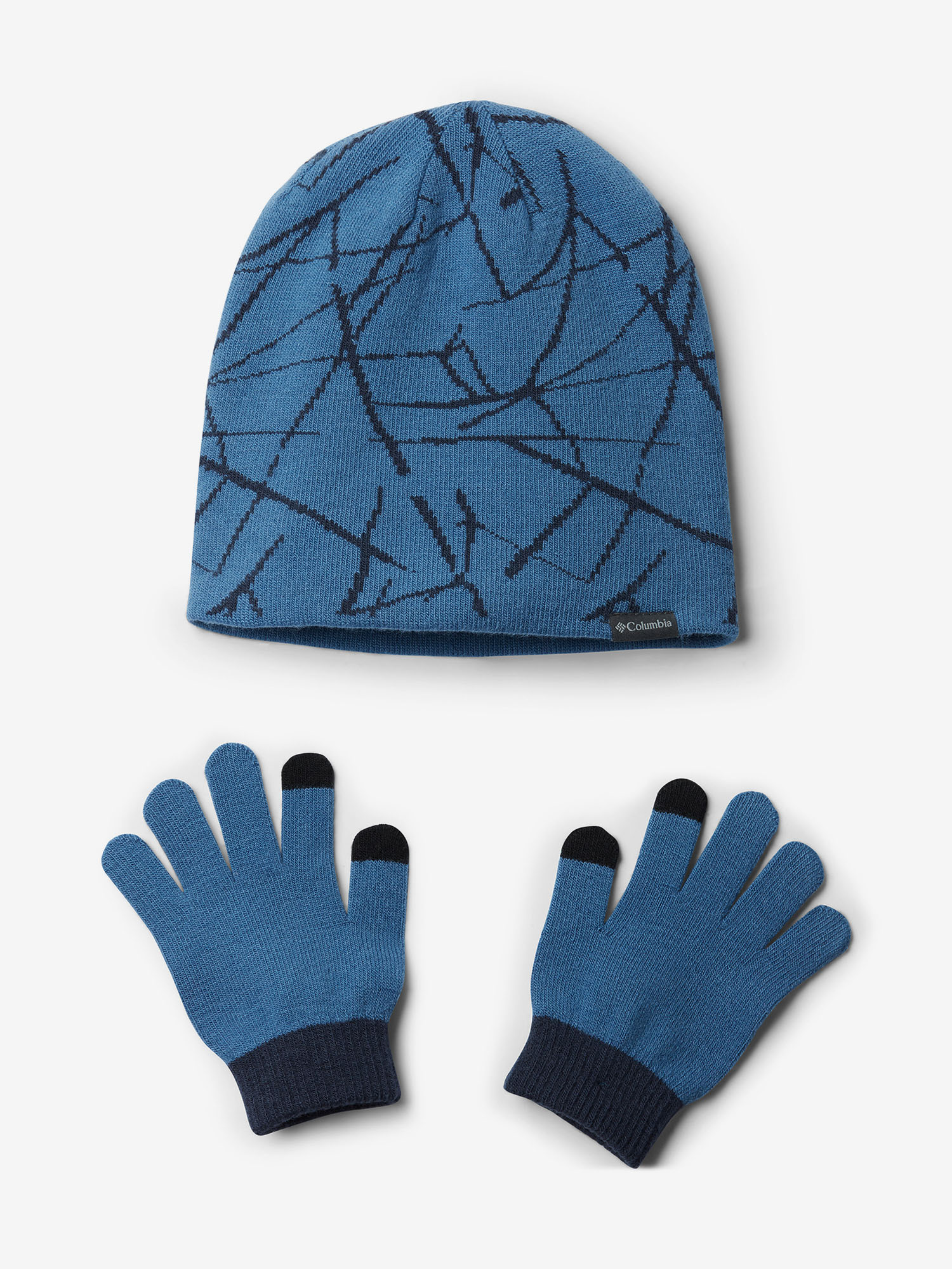 Čepice a rukavice Columbia Youth Hat and Glove Set II (1)