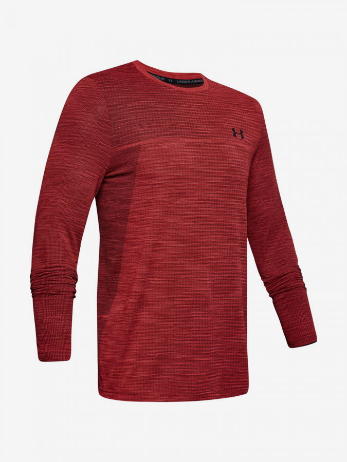 Tričko Under Armour Vanish Seamless Ls Nov 1-Red Červená