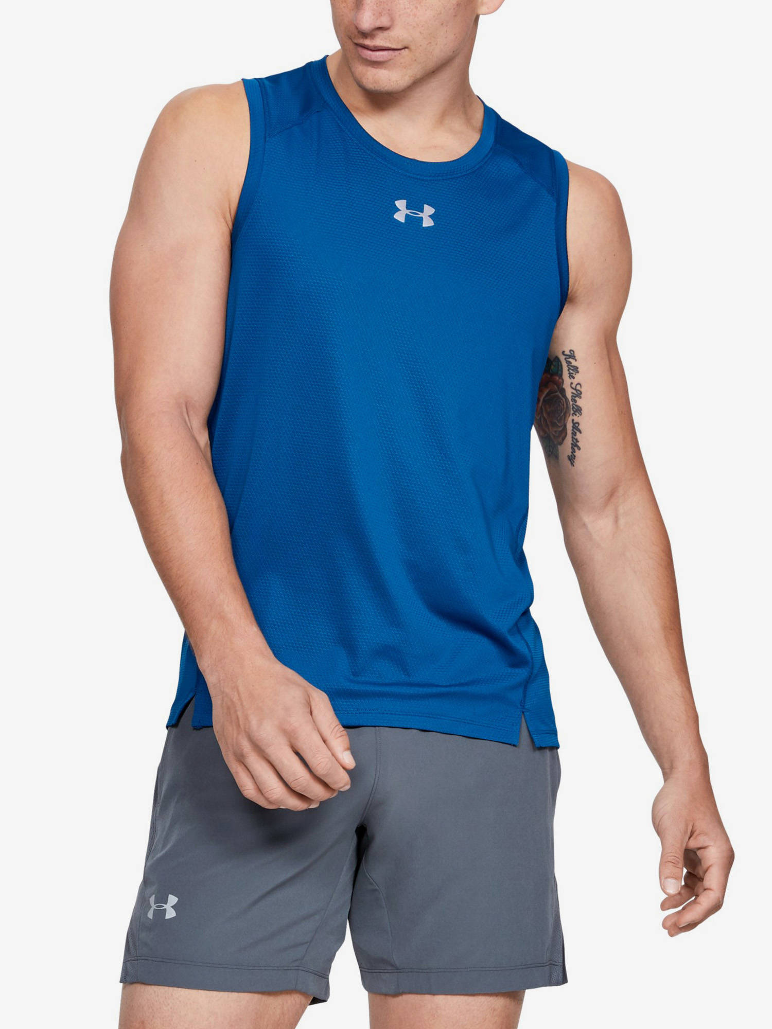 Tílko Under Armour Qualifier Singlet-Grn