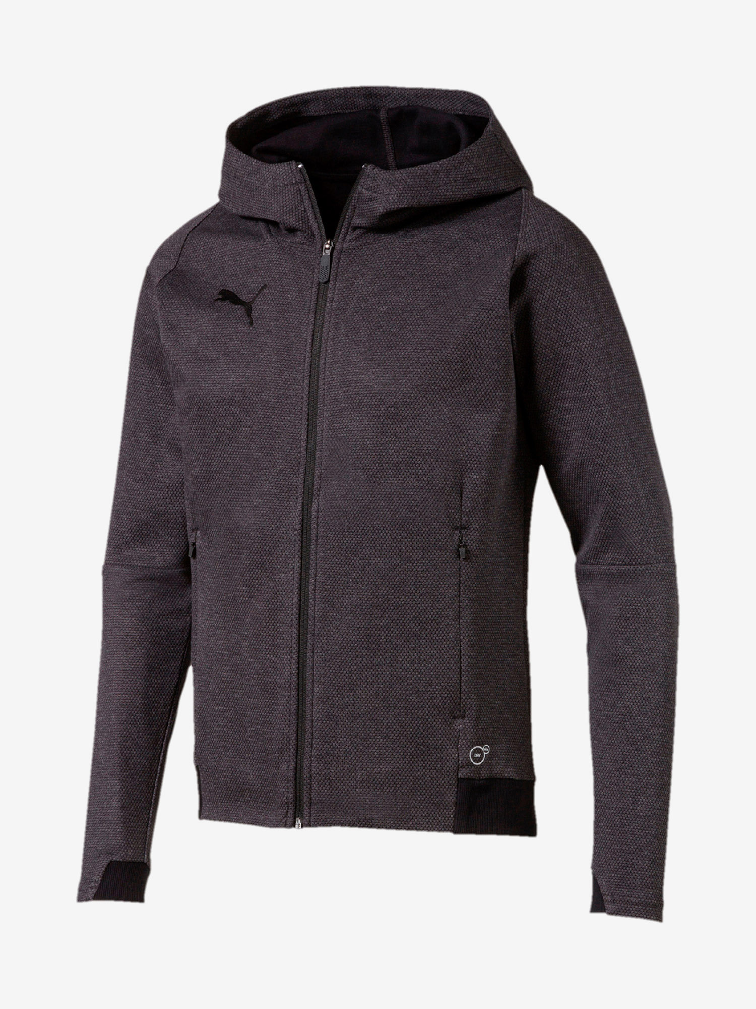 Mikina Puma Final Casuals Hooded Jacket Šedá