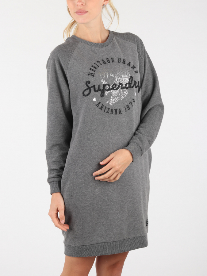 Šaty Superdry Taylor Sweat Dress (1)
