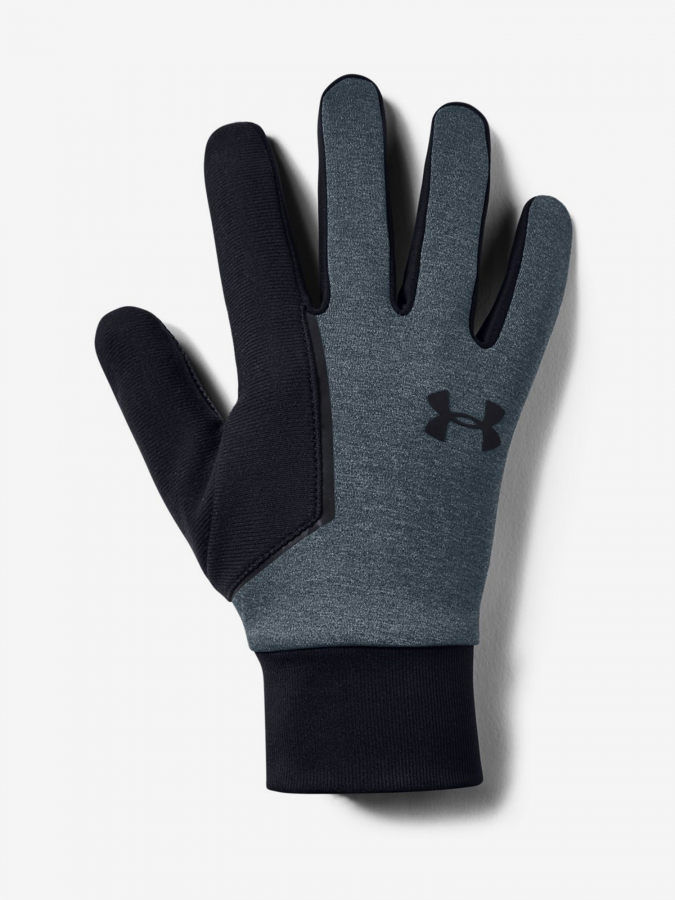 Rukavice Under Armour Mens Cgi Run Liner Glove-Gry Šedá