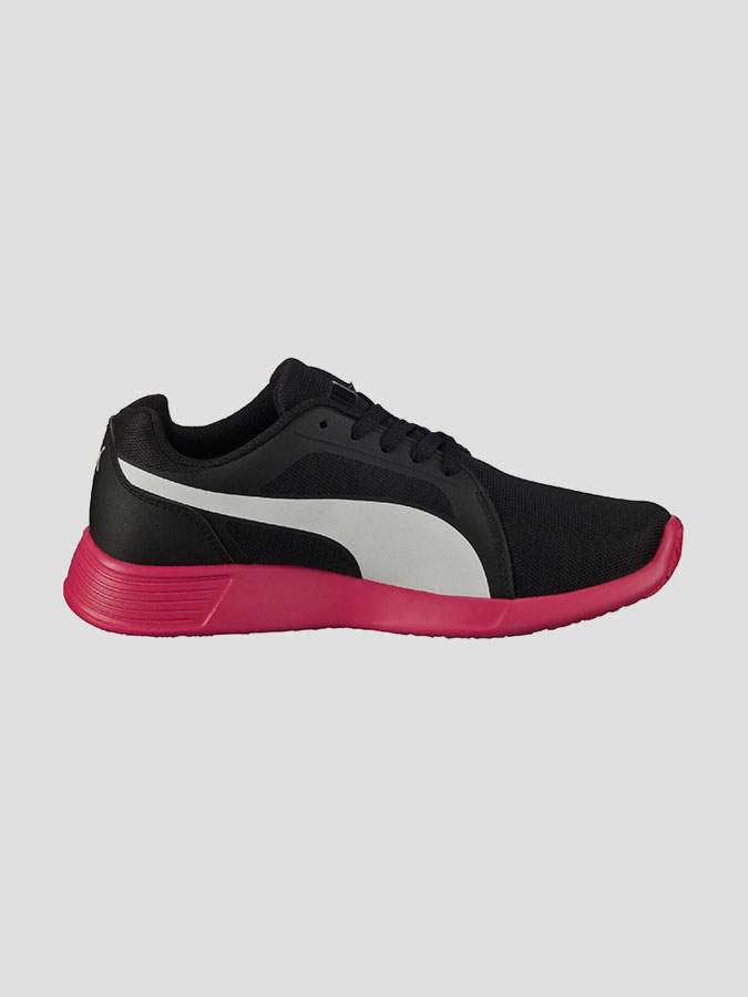Boty Puma ST Trainer Evo black-white-rose red (4)