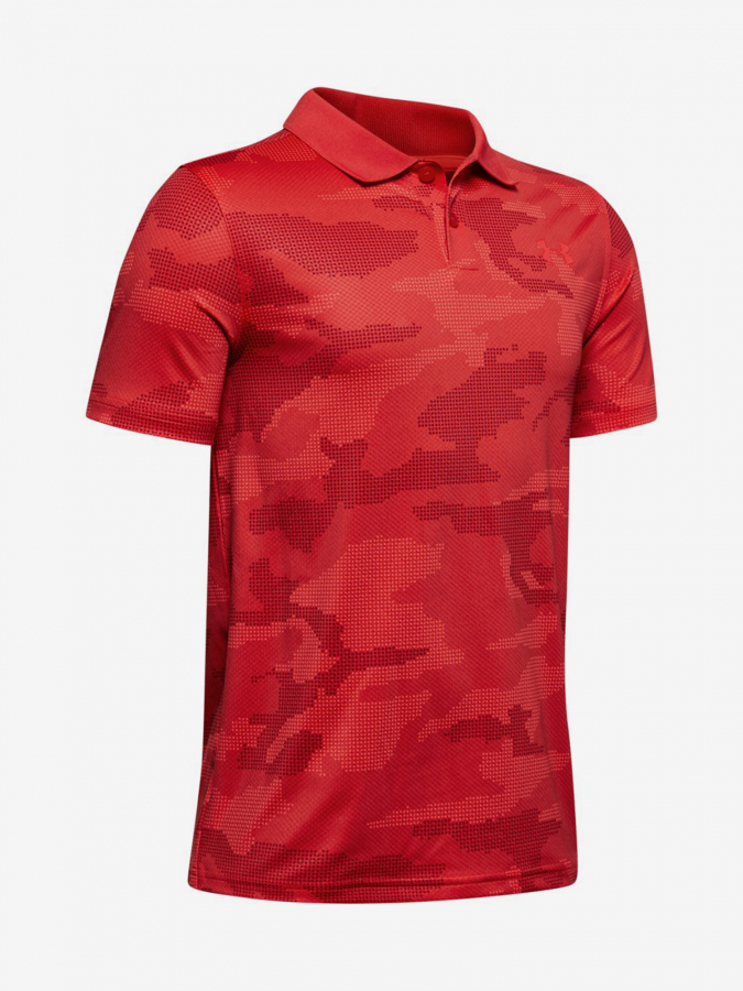 Tričko Under Armour Performance Polo 2.0 Novelty-Red Červená