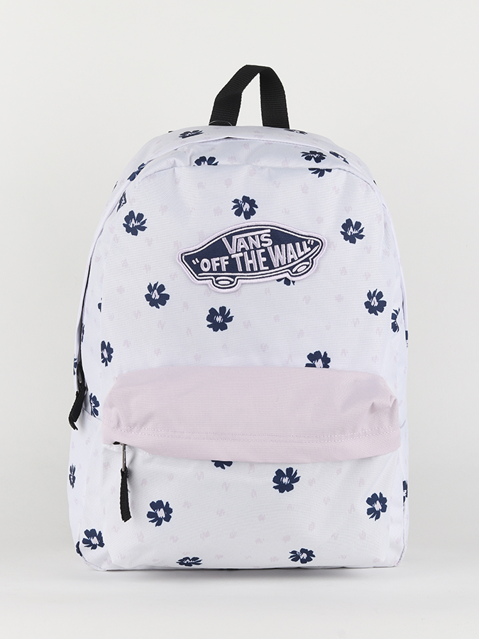 Batoh Vans WM Realm Backpack White Abstract (1)