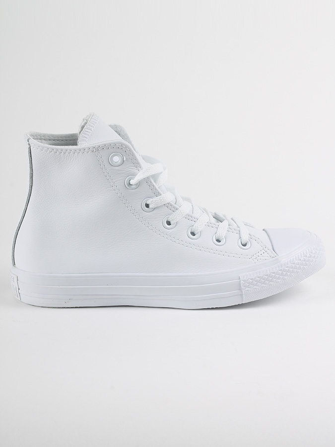 Boty Converse Chuck Taylor All Star Leather Bílá