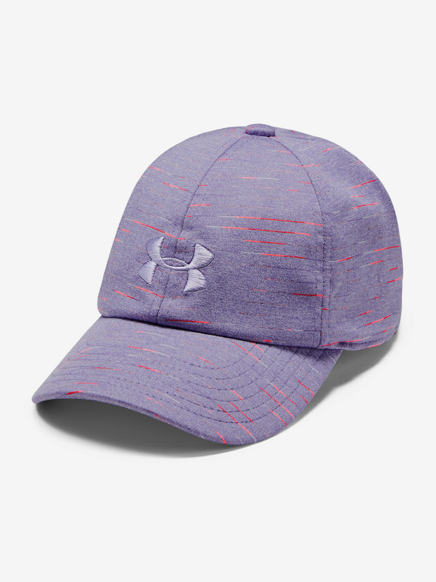 Kšiltovka Under Armour Girls Space Dye Renegade Cap-Ppl Fialová