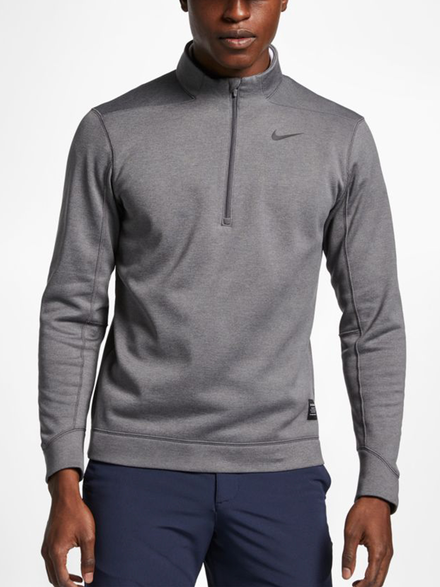 Mikina Nike Men's 1/2-Zip Golf Top Šedá