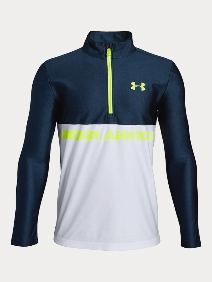 Mikina Under Armour Tech 1/2 Zip Modrá