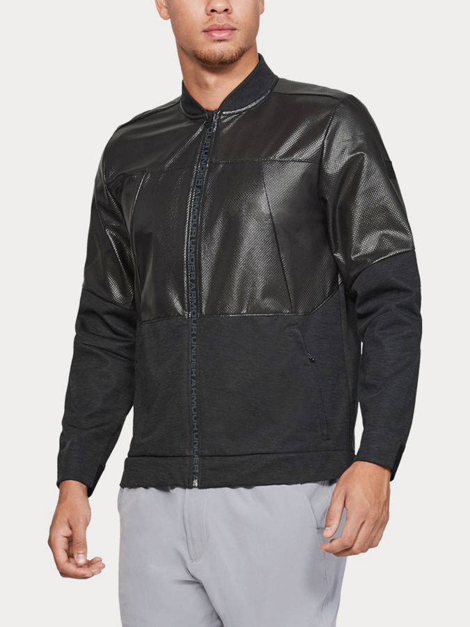 Bunda Under Armour Unstoppable Swacket Bomber Černá