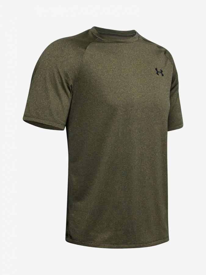 Tričko Under Armour Tech 2.0 Ss Tee Novelty-Grn Zelená