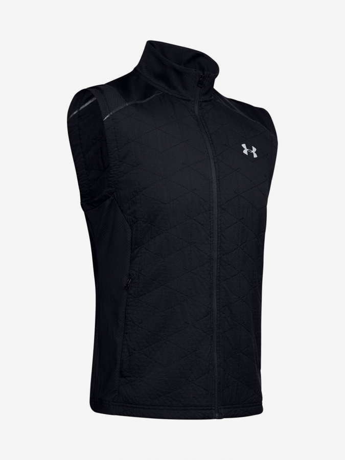 Vesta Under Armour Cg Reactor Insulated Run Vest-Blk Černá