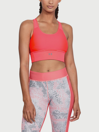 Kompresní podprsenka Under Armour Crossback Pocket Bra