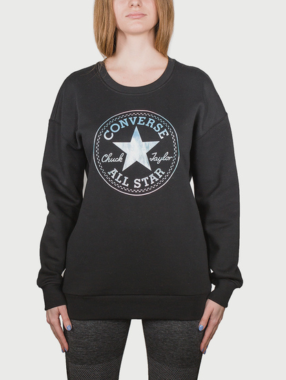 Mikina Converse Shine Pack Graphic Oversized Crew