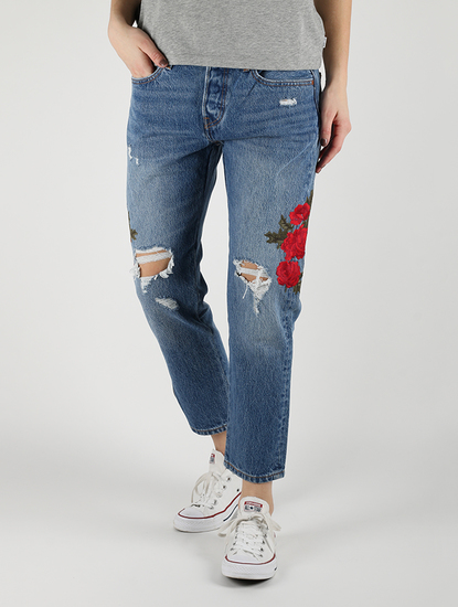 501® Cropped Taper Jeansy Levi's®