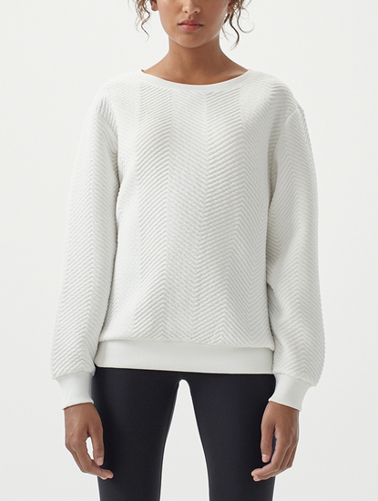 Mikina O´Neill LW Quilted Crew Sweatshirt