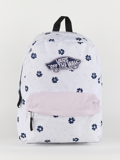 Batoh Vans WM Realm Backpack White Abstract