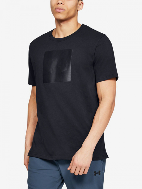Tričko Under Armour Unstoppable Knit Tee-Blk