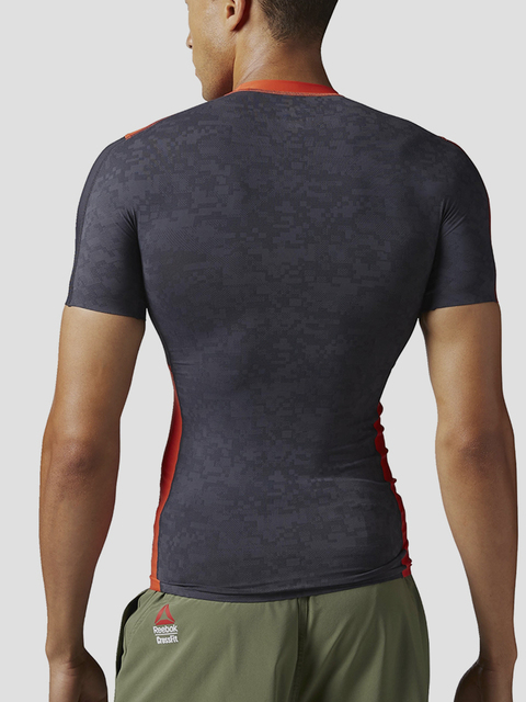 Kompresní tričko Reebok RCF SS COMPRESSION TOP