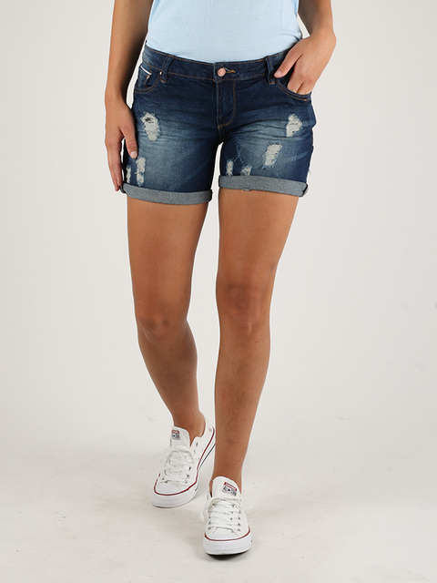 Kraťasy Alcott HIGHT WAIST SHORT