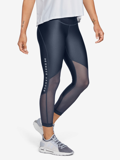 Kompresní legíny Under Armour Hg Mesh Ankle Crop - Graphic-G
