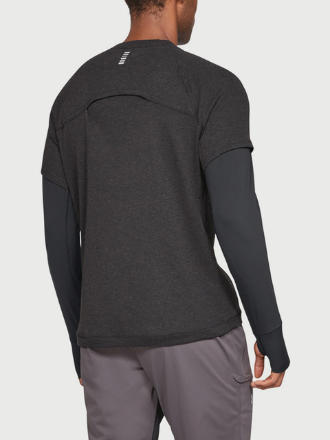 Tričko Under Armour Run Performance Waffle Ls