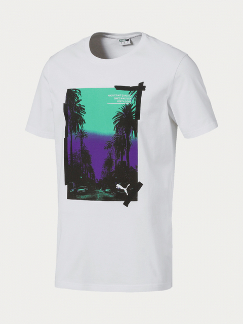 Tričko Puma Graphic Palms Photo Tee