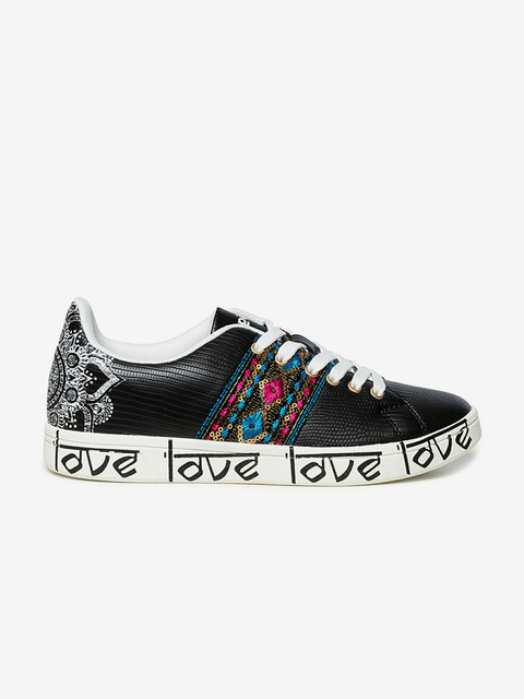 Boty Desigual Shoes Cosmic Exotic Indian