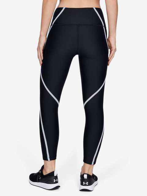Kompresní legíny Under Armour Hg Ankle Crop Edgelit -Blk