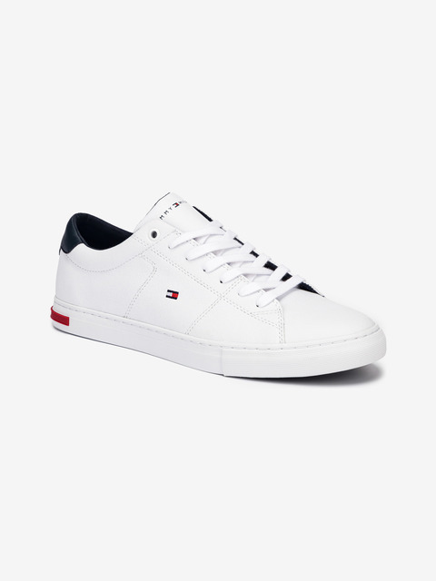 Essential Leather Detail Vulc Tenisky Tommy Hilfiger