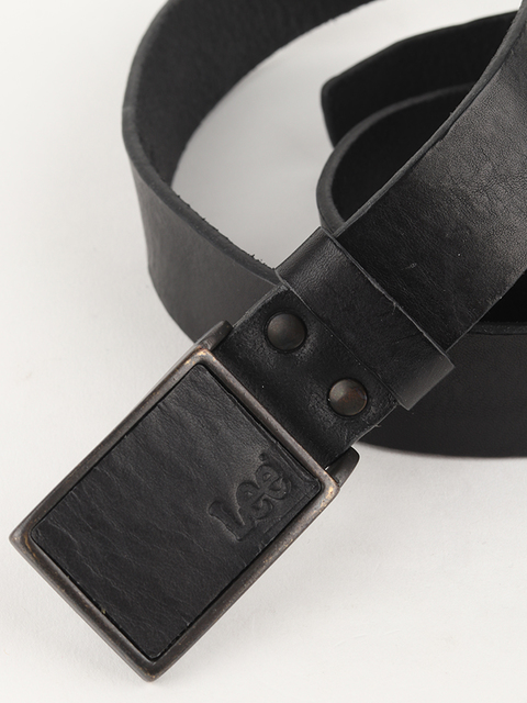Pásek Lee Square Buckle Belt Black