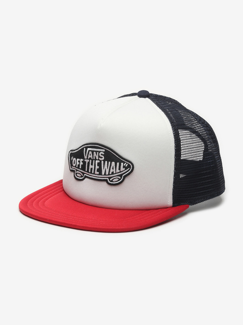 Kšiltovka Vans Mn Classic Patch Tru Racing Red/White