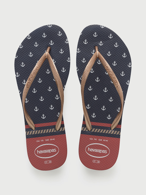 Žabky Havaianas Slim Nautical Navy/Red