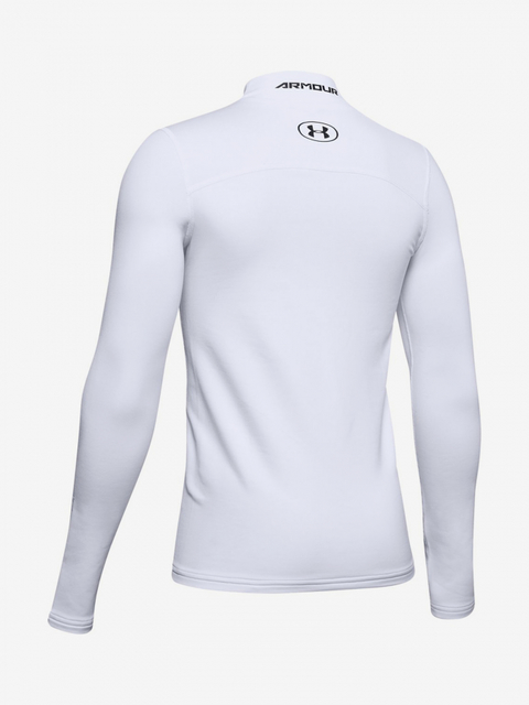 Tričko Under Armour Coldgear Mock-Wht