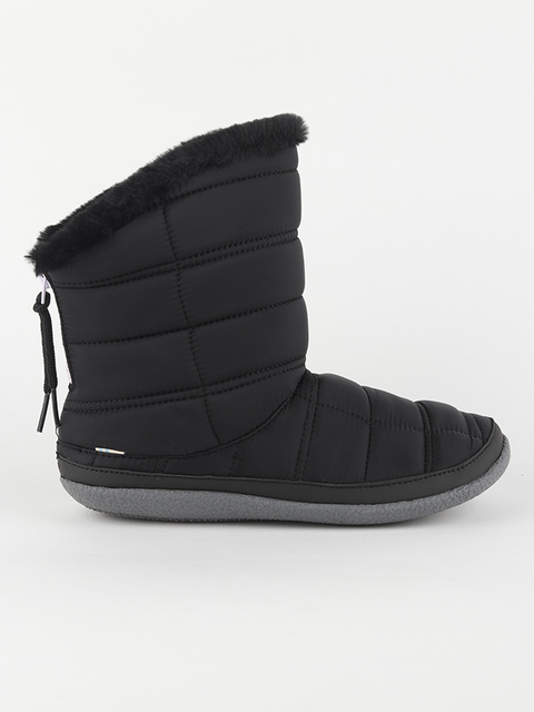 Boty Toms Black Quilted