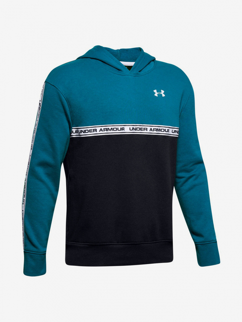 Mikina Under Armour Sportstyle Fleece Hoodie-Grn